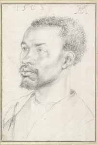 Head of an African, Albrecht Durer, 1508