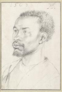 Head of an African, Albrecht Durer, 1508